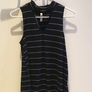 Black and white striped tank top!